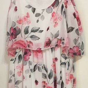Light, easy dress for day or evening.